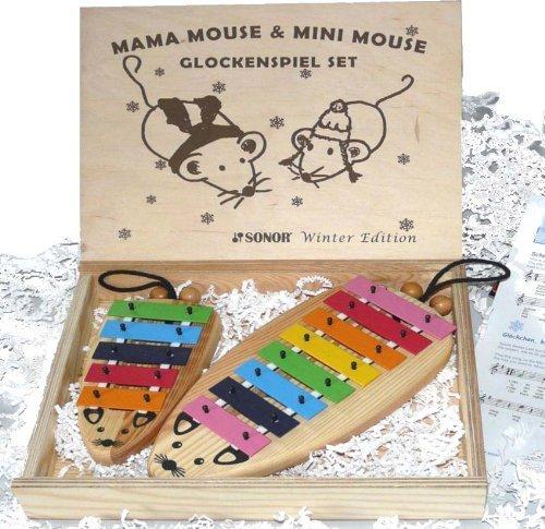 sonor mama mini maus set glockenspiel sopran noten ebay. Black Bedroom Furniture Sets. Home Design Ideas